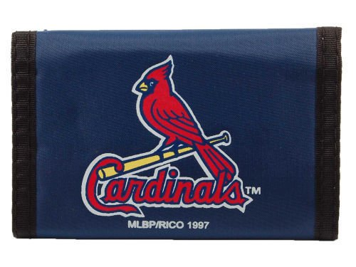 Team Wallet (ST. LOUIS CARDINALS Team Logo Tri-Fold NYLON WALLET)