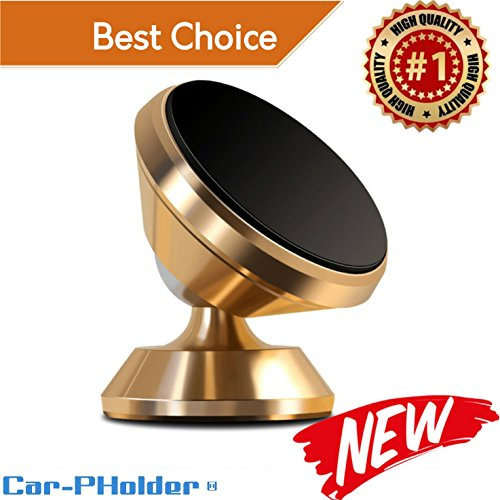 Car Phone Holder Magnetic Mount Universal 360 Rotation Stand
