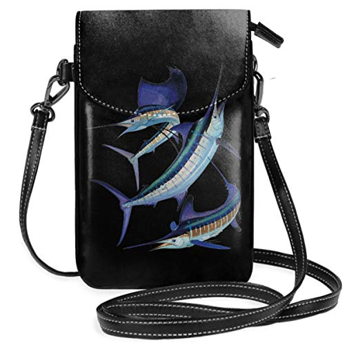 Small Cell Phone Purse For Women Leather Tunas Insides Card Slots Crossbody Bags Wallet With Shoulder Strap