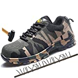 Safety Shoes With Steel Head for Protecting Shoes From Smashing and Piercing Work Boots Mens Shoes Work& Safety