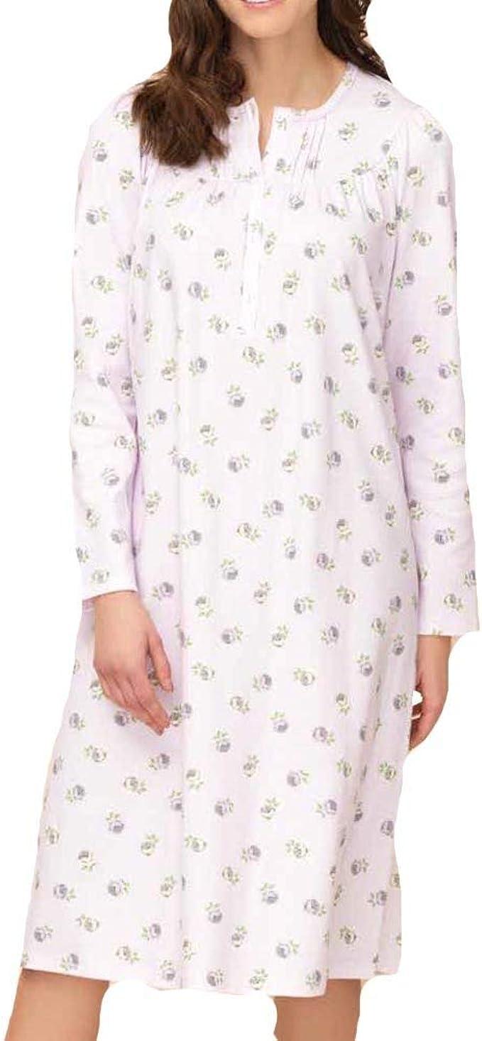 Camicia da notte donna primavera autunno in cotone TG M L XL   0DPCAM002