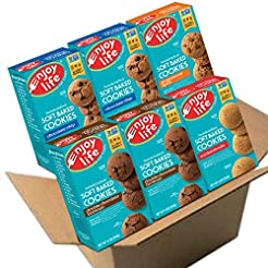 Enjoy Life Soft Baked Cookies, Soy free,...