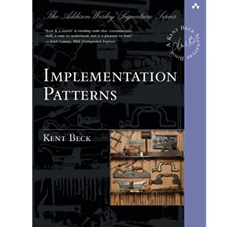 Implementation Patterns Beck Kent 0785342413090 Amazon Com Books