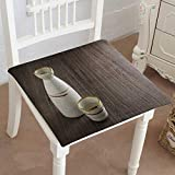 Egg Carton Foam Pillow Mikihome Chair Pads Square Cotton Chair Cushion Japanese Sake Soft Thicken Seat Pads Cushion Pillow for Office,Home or Car 16