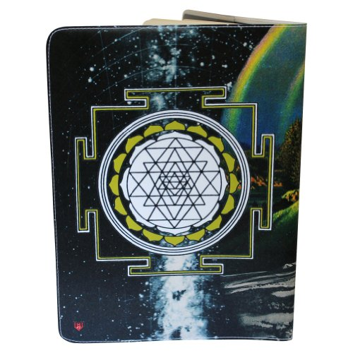 Zebra Magic Sri Yantra X-Large Journal (Diary, Notebook) w/ Moleskine Cahier X-LG Cover