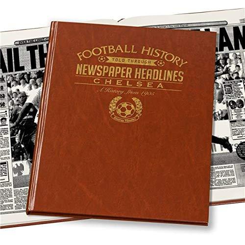 Chelsea Football Club Historic Archive Newspaper Book