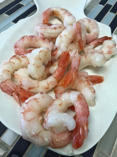 Argentine Red Shrimp Ruby red shrimp Jumbo 21-25 per pound 2lb (4 LB) P&D