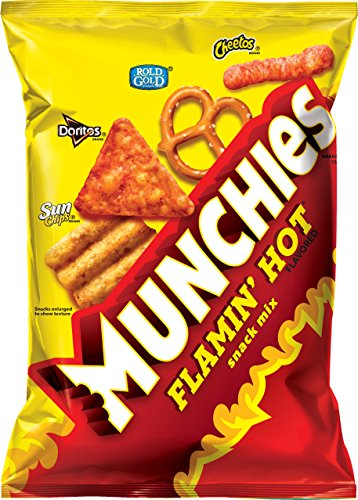 Munchies Snack Mix Flamin Ounce product image