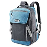 Best American Tourister Laptop Backpacks - American Tourister Dig Dug Backpack (Light Blue/Grey) Review