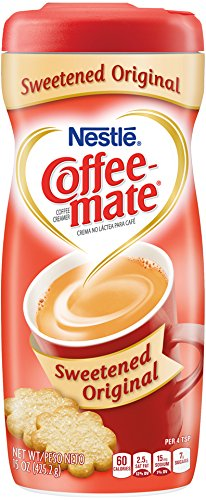 Coffee-mate Sweetened Original Powdered Cream, 15 Ounce (Pack of 6)