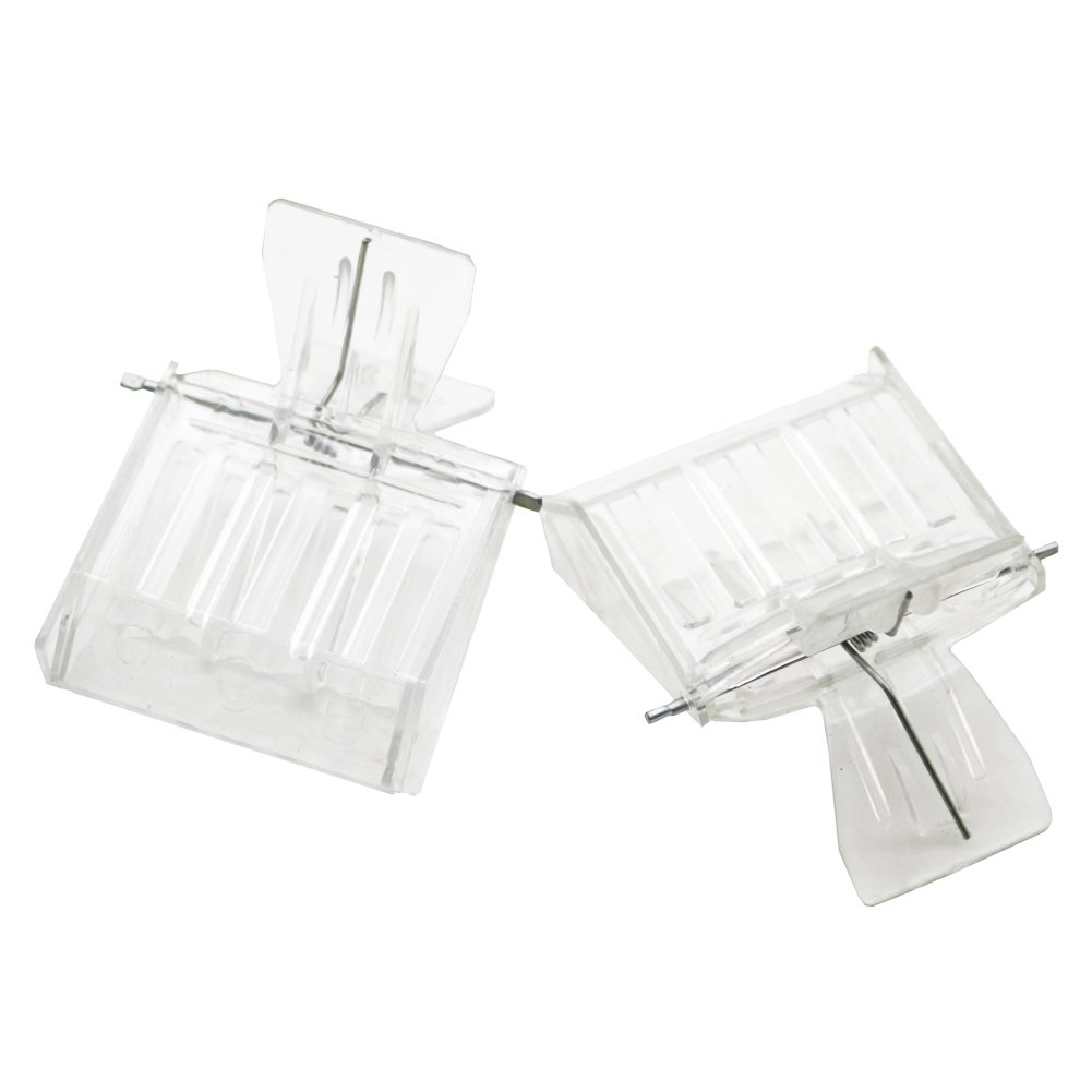 Adhere To Fly 5 PCs Beekeeping Queen Bee Clip Catcher King Cage Rearing Breeding Tool (Metal)