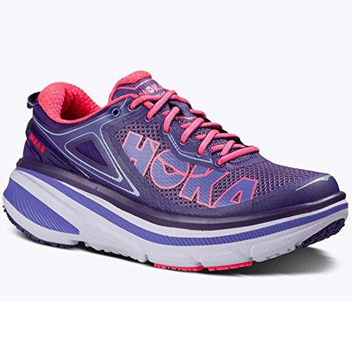 hoka-one-one-womens-bondi-4-running-sneaker-shoe-mulberry-neon-pink-us-8