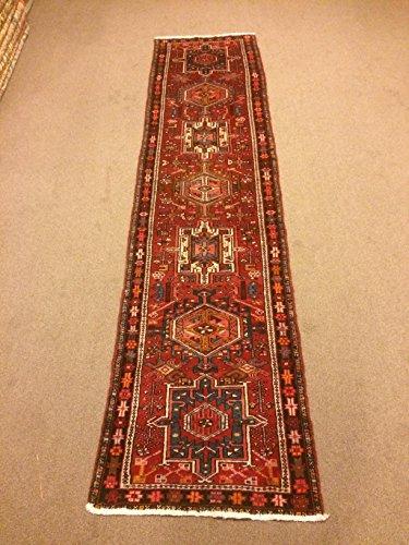 2.9x11.2 Feet Narrow Rug Runner Ethnic Rug Runner Vintage Aisle Rug Corridor Rug Hallway Carpet.Code:P620