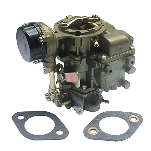 KIPA Carburetor YF Type Carter Carburetor For Ford 240 250 300 YF C1YF 6 Cylinder CIL Engine 1975-1982 D5TZ9510AG Replace # RSC-300A 6307S 6054 6055 6-736 6056 6057 6058 6059