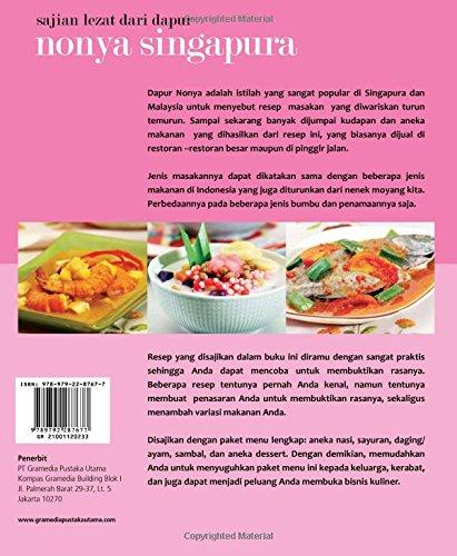 Sajian Lezat Dari Dapur Nonya Singapura Indonesian Edition