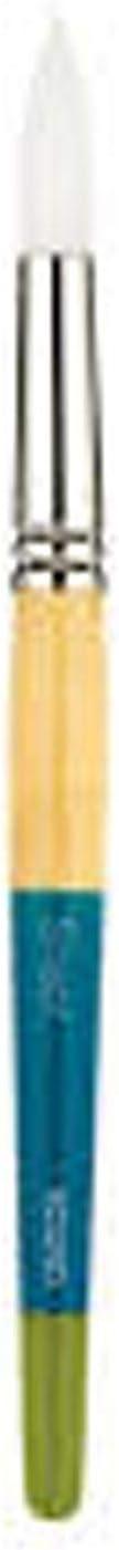 White Synthetic Size 10 Snap Princeton Artist Brush Round Series 9850