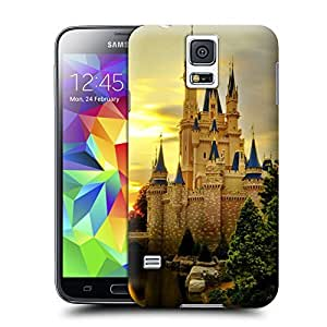 Unique Phone Case Famous scenery Cinderella Castle Hard Cover for samsung galaxy s5 cases-buythecase