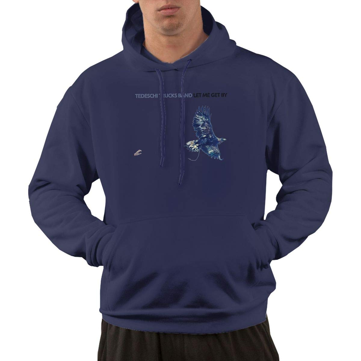 AlbertV Mens Tedeschi Trucks Let Me Get Hoodies Sweater Pocket Navy