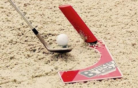 New H4 Distribution EyeLine Golf Bunker Pro System for Hitting Bunker shots -