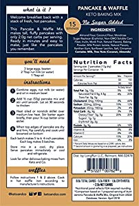 Keto And Co Pancake And Waffle Mix by Keto and Co
