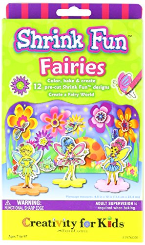 Creativity for Kids  Shrinky Dinks Fairies