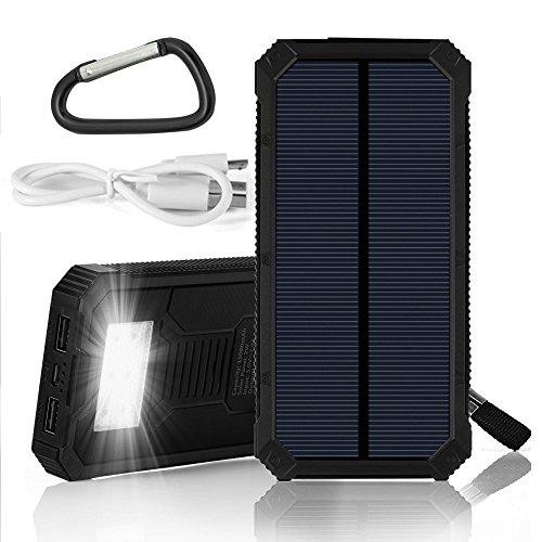 Solar Charger Solar Power Bank Grde 15000mah Solar Panel