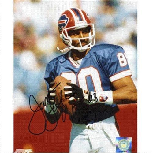 (James Lofton Autographed Buffalo Bills 8x10 Photo)