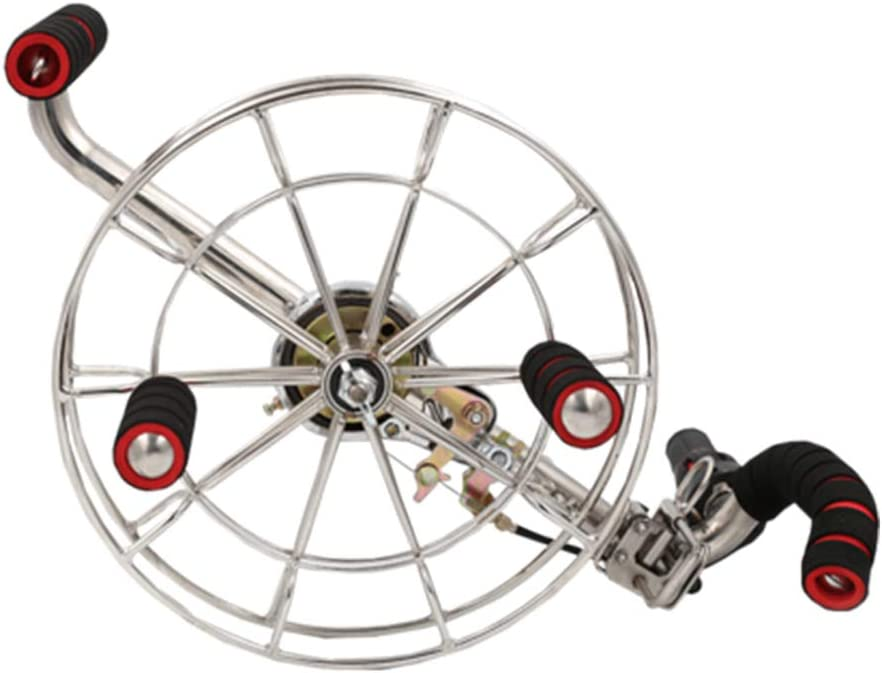 Enrollador línea cometa, empuñadura rotación suave ysinuosa para herramienta manija voladora rueda una cuerda Herramienta bloqueable, carrete profesional para exteriores, adapta cometa sola línea: Amazon.es: Hogar
