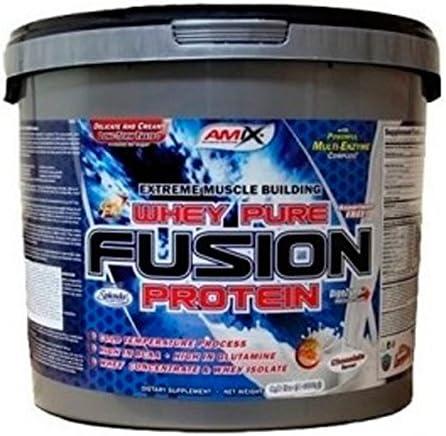 Amix Whey Pure Fusion 2,3 Kg Platano: Amazon.es: Alimentación ...