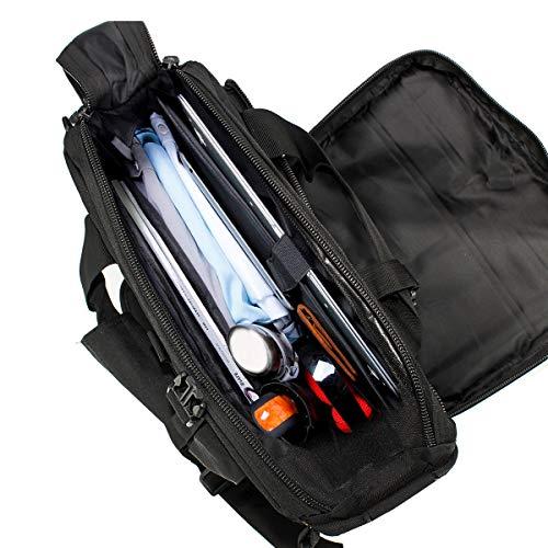 GES Multifonctions Tactique en Nylon d'épaule pour Ordinateur Portable Messenger Bag Porte-Documents Sacs à Main pour 15… 5