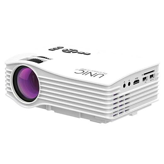 MYYDD Proyector, UC36 Home HD proyector, Micro Mini portátil de ...