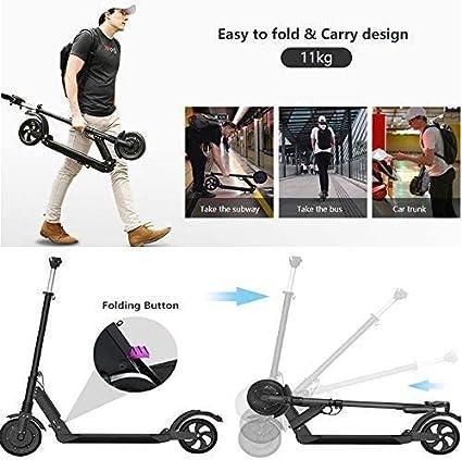 E-Scooter Klappbar Elektroroller Scooter S1 PRO 350W 30 Km//h 30km S1PRO-Schwarz LCD E-Roller Jugendliche und Erwachsene Elektroscooter 7,8 AH Li-Ionen-Akku
