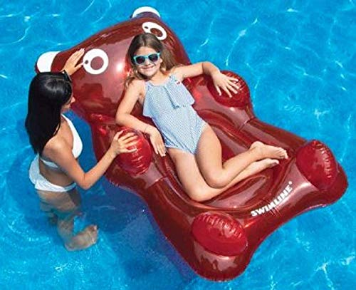 Swimline Inflatable Gummybear Pool Float (Pool Bear)