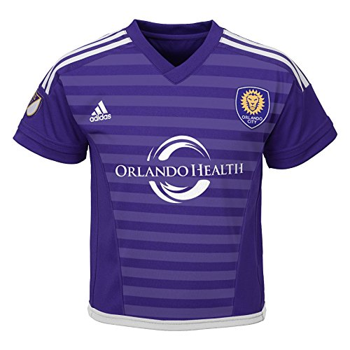 MLS Orlando City SC Boy's Primary Replica Jersey, Purple, 12 Months