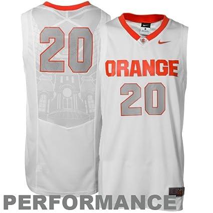 Amazon Com Nike Syracuse Orange 20 Aerographic Titanium Elite