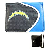 San Diego Chargers Faux Leather Zipper Wallet