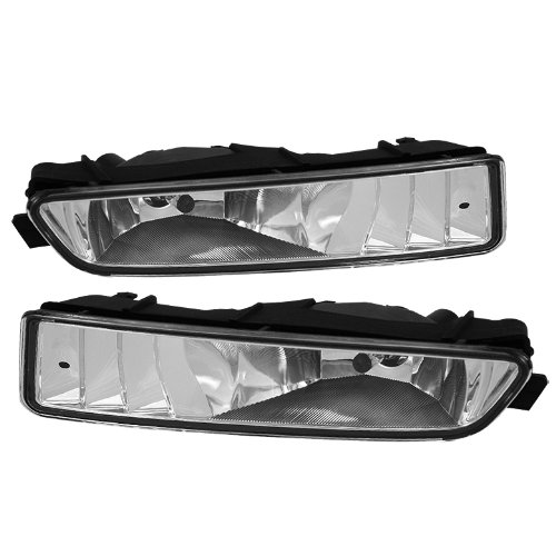 Jdragon 2002 2003 Acura TL Base Type-S Fog Lights Bumper Lamps with Bulbs Acura Tl Base