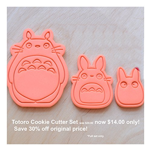 3 Pcs. Totoro Cookie Cutter Set Baking Needs