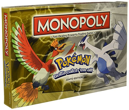 Monopoly Game: Pokémon Johto - Monopoly Edition Game