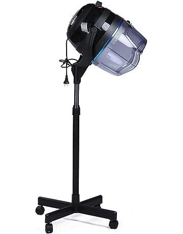 Profesional Casco Secador de Pelo Calentador Campana Levántate con capucha Minutero Ajustable Temperatura Laminación Hierro Plato