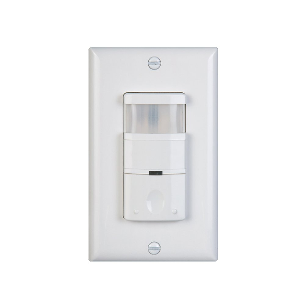 NICOR Lighting Low Power Occupancy/Motion Sensor with 180-Degree Field Of View, Ivory (DOS180LPIV)