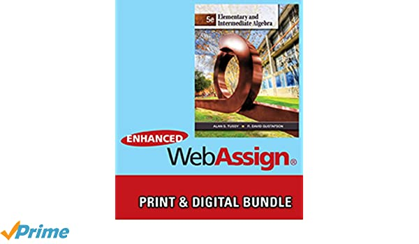 Bundle elementary and intermediate algebra 5th webassign bundle elementary and intermediate algebra 5th webassign printed access card for tussygustafsons elementary and intermediate algebra 5th edition fandeluxe Image collections