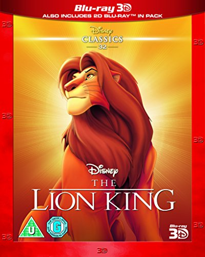 The Lion King (Limited Edition Artwork Sleeve) (Blu-ray 3D + Blu-ray 2D) [Region Free]