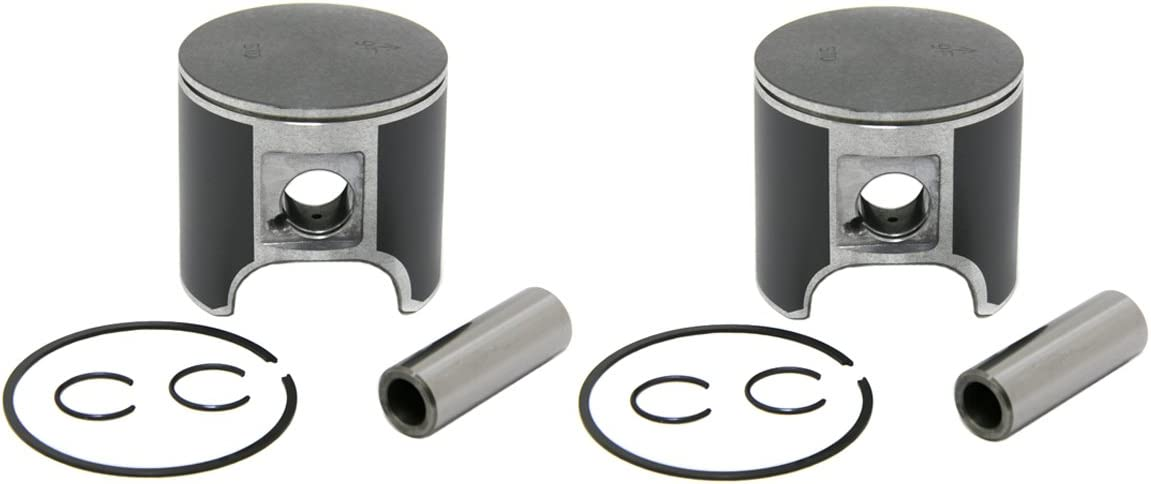 09-785-02 2 Piston Kits 1999-2015 Ski-Doo 600 non-HO 500SS Sleds .020 Over Bore 76.5mm SPI