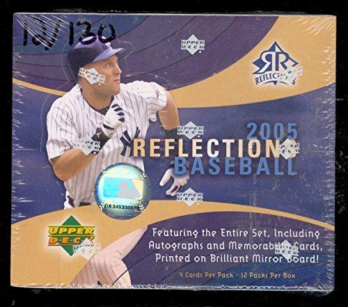 2005 Upper Deck Reflections Baseball Unopened Full Box Factory Sealed