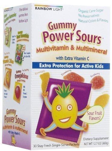 (Rainbow Light - Gummy Power Sours Multivitamin & Multimineral - 30 Packet(s))