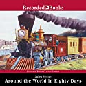 Around the World in 80 Days Audiobook by Jules Verne Narrated by Patrick Tull