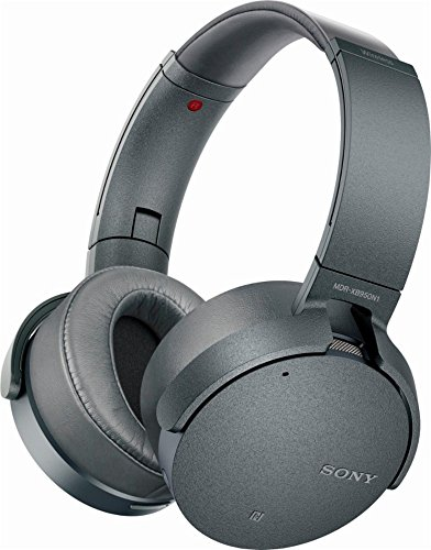 Sony 950N1 Extra Bass Wireless Bluetooth Noise Cancelling Headphones - MDRXB950N1/H (Renewed)