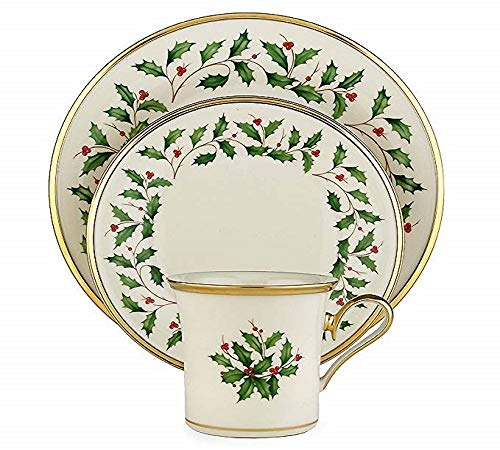 Lenox Holiday Placesetting, Multicolor