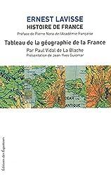 TABLEAU DE LA GEOGRAPHIE DE LA FRANCE - HISTOIRE D